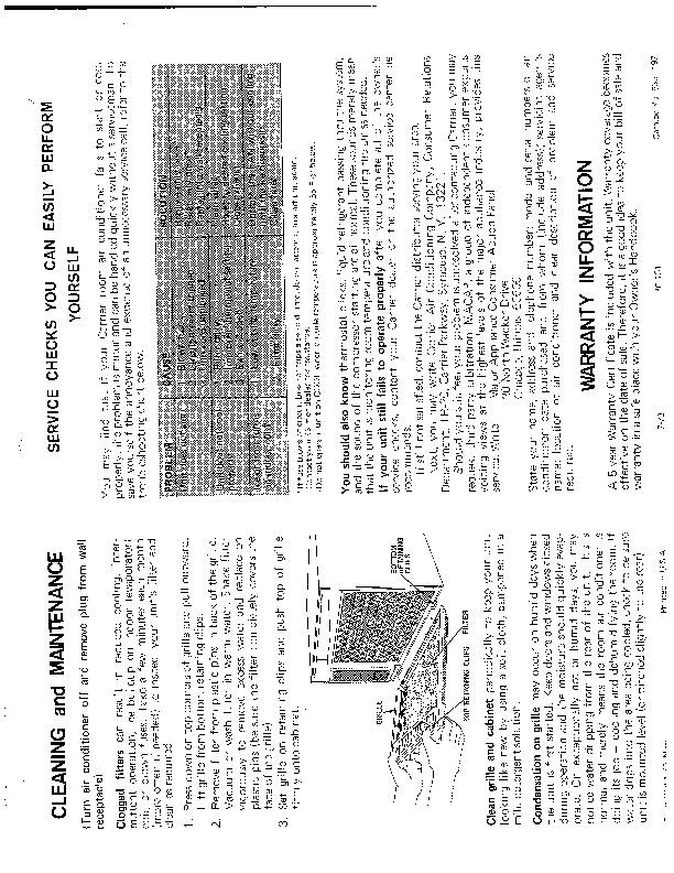 Carrier 51 50 Heat Air Conditioner Manual