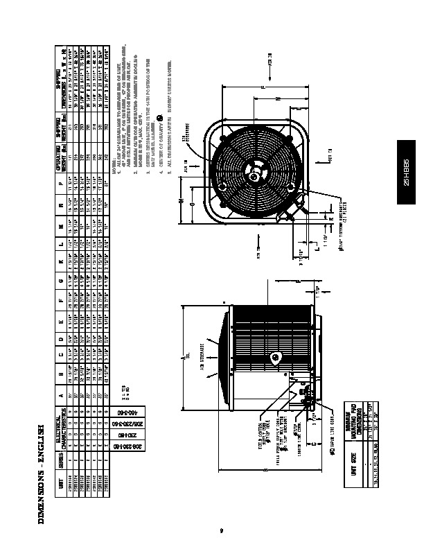 Carrier 25hbb5 1pd Heat Air Conditioner Manual