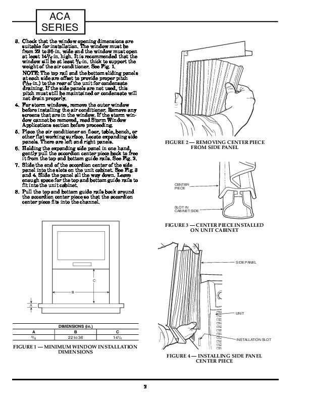 Carrier 73aca 1si Heat Air Conditioner Manual