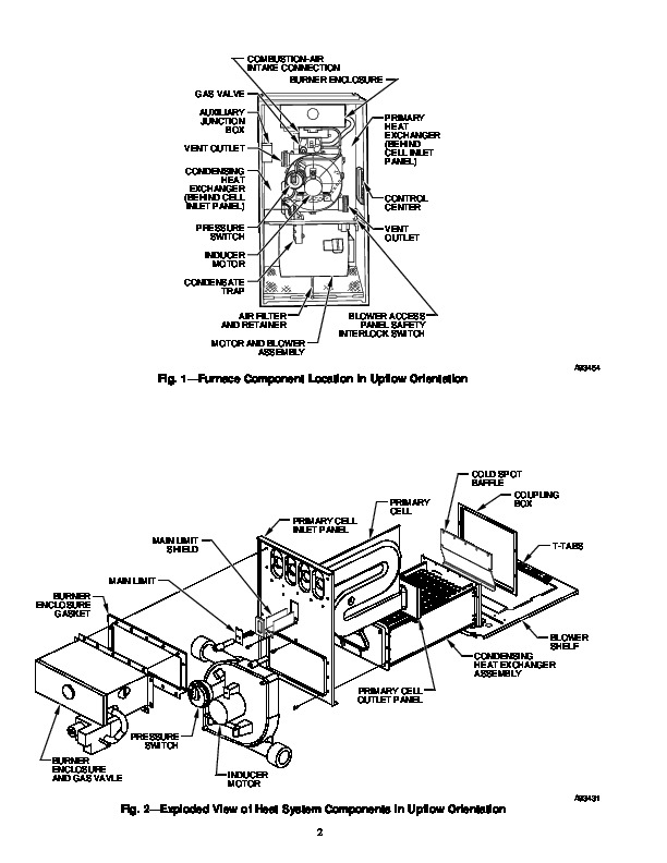 Carrier 58M 15SI Gas Furnace Owners Manual