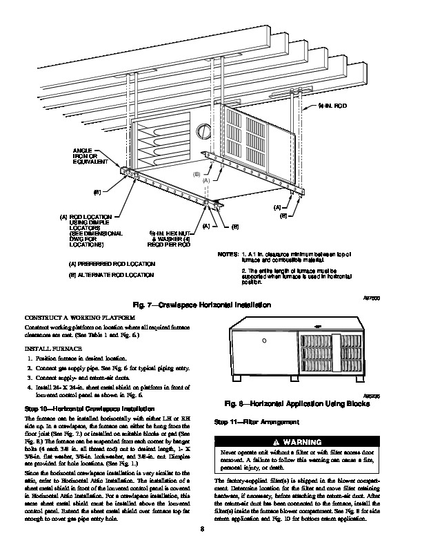 Carrier 58UXT 3SI Gas Furnace Owners Manual
