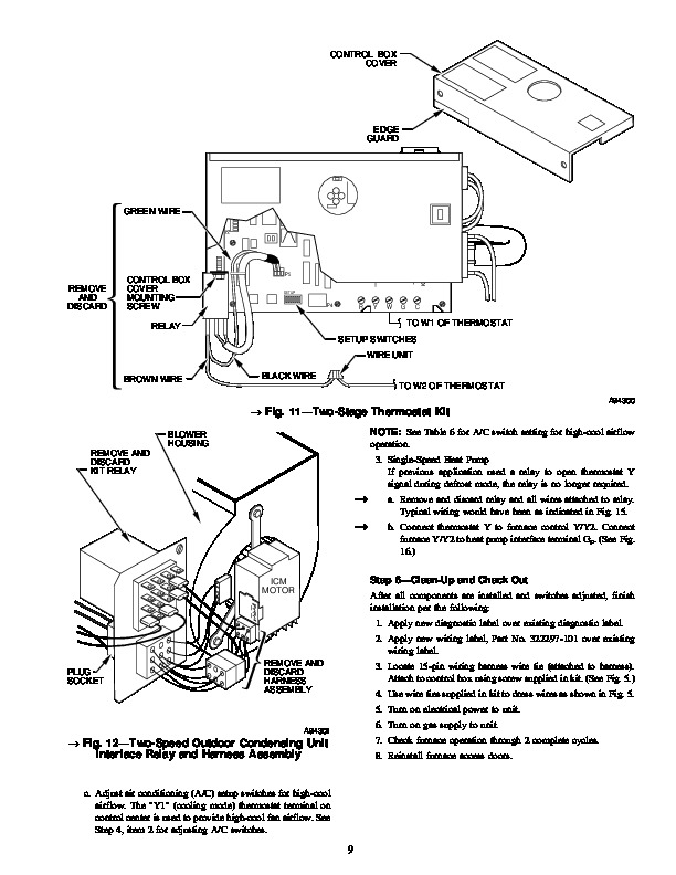 Carrier Operating Manuals