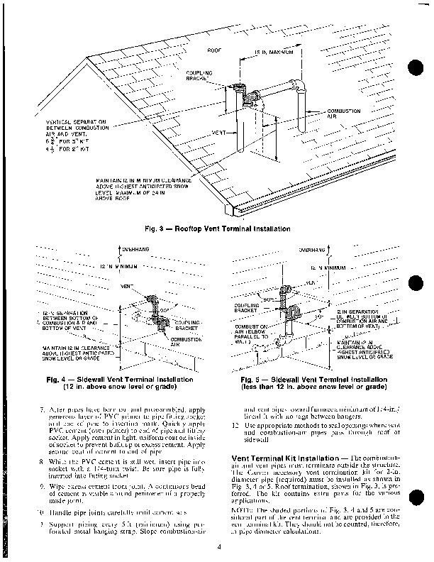 Carrier 58SX 3XA Gas Furnace Owners Manual
