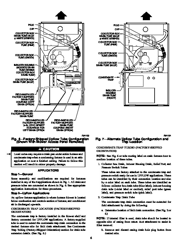 Carrier 58MSA 7SI Gas Furnace Owners Manual