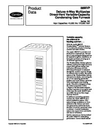 Carrier Furnace: Carrier Furnace User Manual
