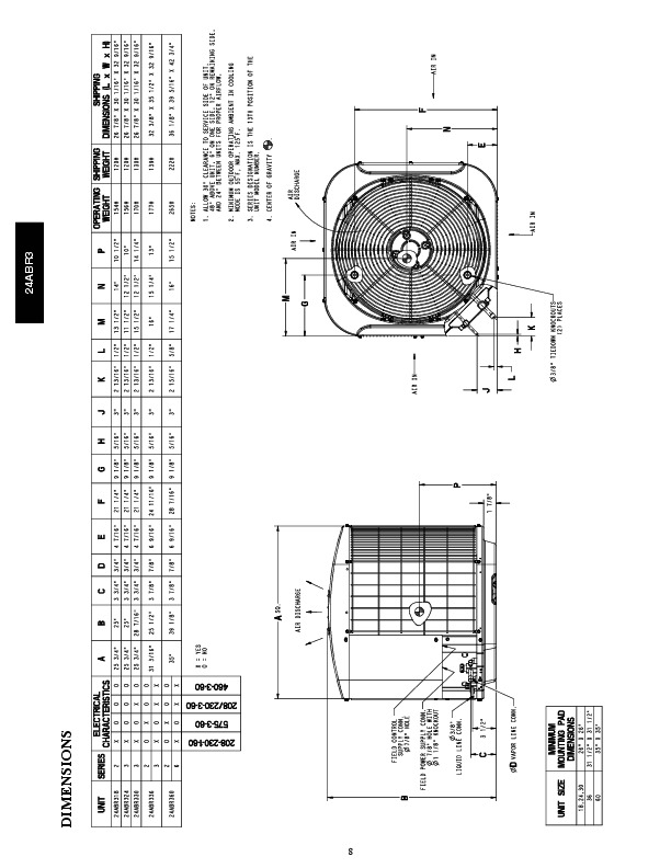 Carrier 24abr3 4pd Heat Air Conditioner Manual