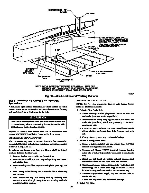 Carrier 58MCA 6SI Gas Furnace Owners Manual