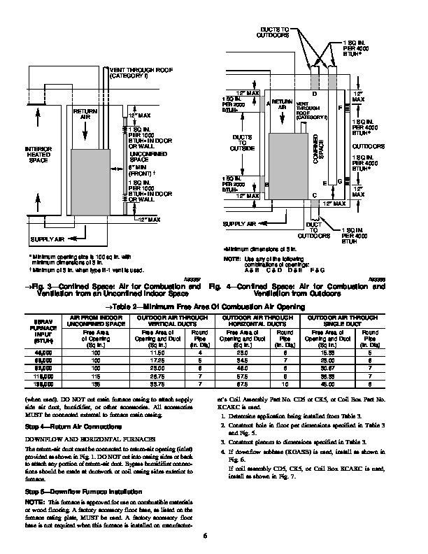 Carrier 58RA 14SI Gas Furnace Owners Manual