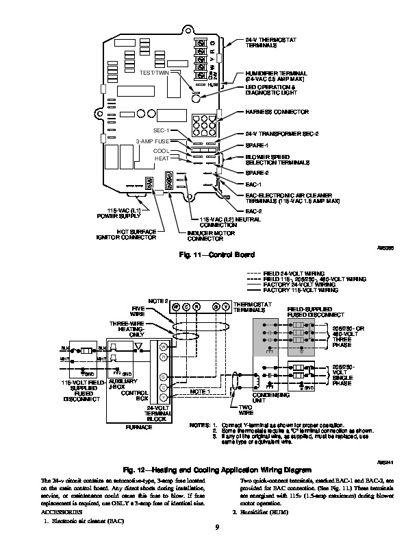 Carrier 58RA 12SI Gas Furnace Owners Manual