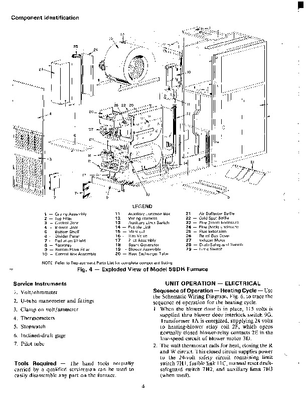 Wiring Diagram Lennox Furnace