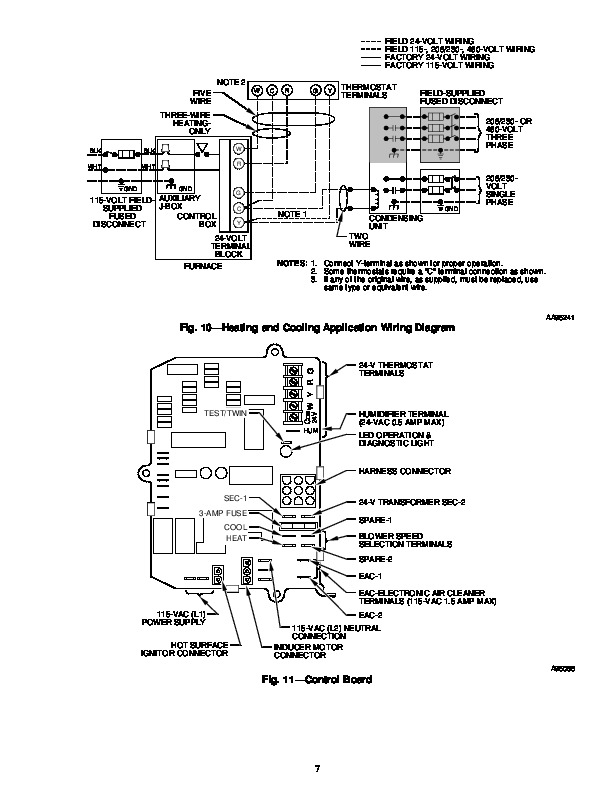 Carrier 58P 58R 11SM Gas Furnace Owners Manual