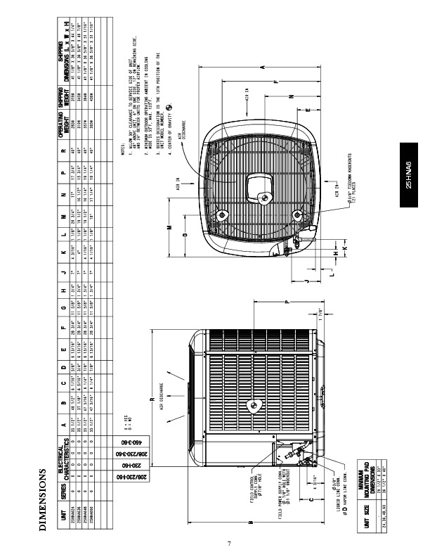 Carrier 25hna6 2pd Heat Air Conditioner Manual