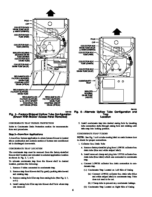 Carrier 58MXA 2SI Gas Furnace Owners Manual