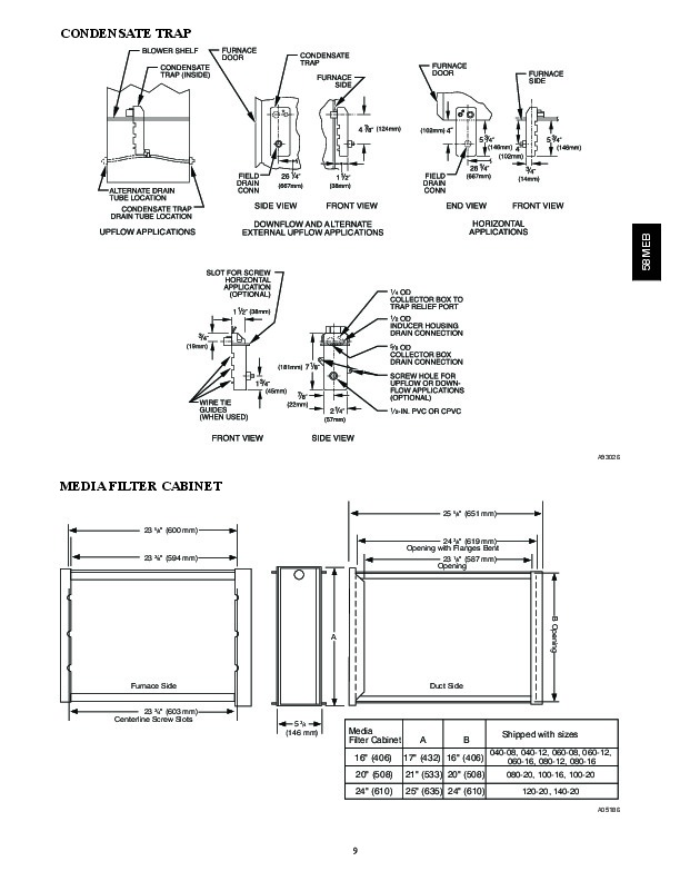 Carrier 58MEB 03PD Gas Furnace Owners Manual
