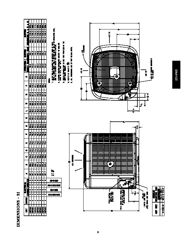 Carrier 25hpa5 3pd Heat Air Conditioner Manual