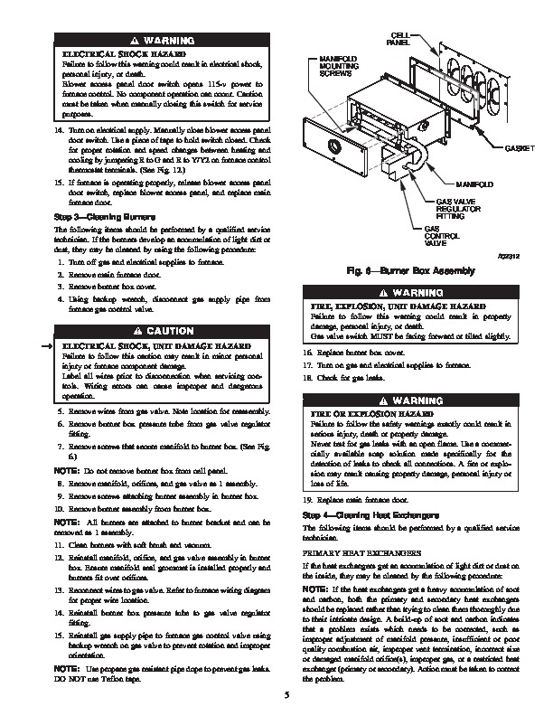 Carrier 58MVP 12SM Gas Furnace Owners Manual