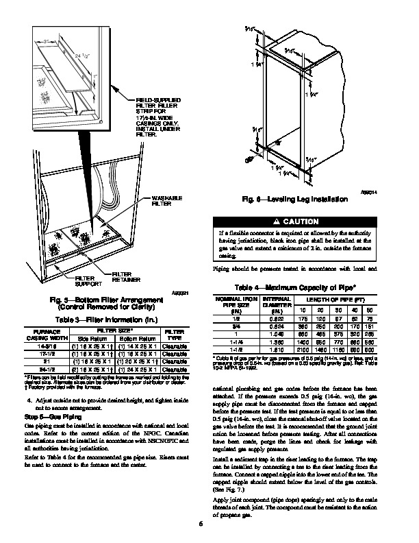 Carrier 58WAV 5SI Gas Furnace Owners Manual