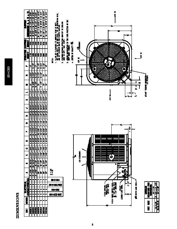 Carrier 25hcb3 1pd Heat Air Conditioner Manual