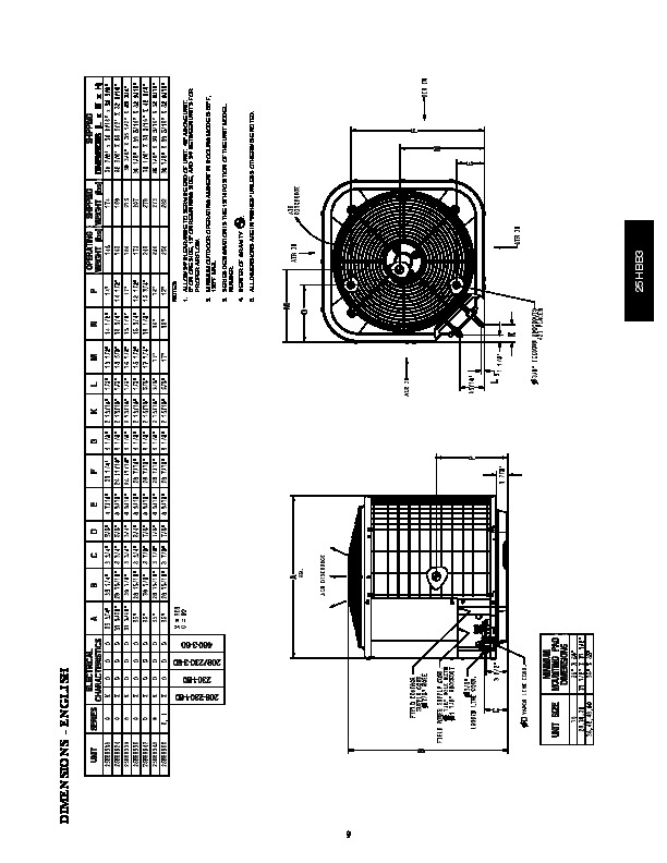 Carrier 25hbb3 5pd Heat Air Conditioner Manual