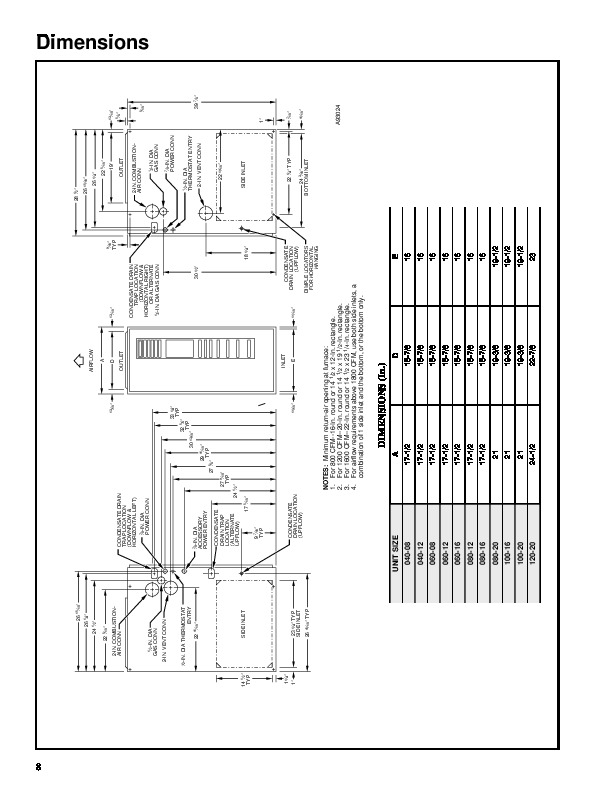 Carrier 58MXA 5PD Gas Furnace Owners Manual