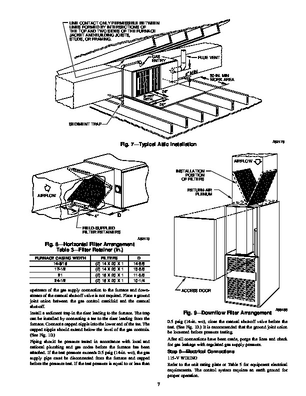 Carrier 58TMA 3SI Gas Furnace Owners Manual