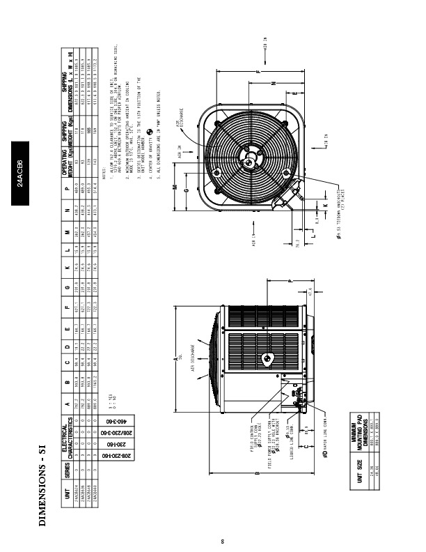 Carrier 24acb6 2pd Heat Air Conditioner Manual