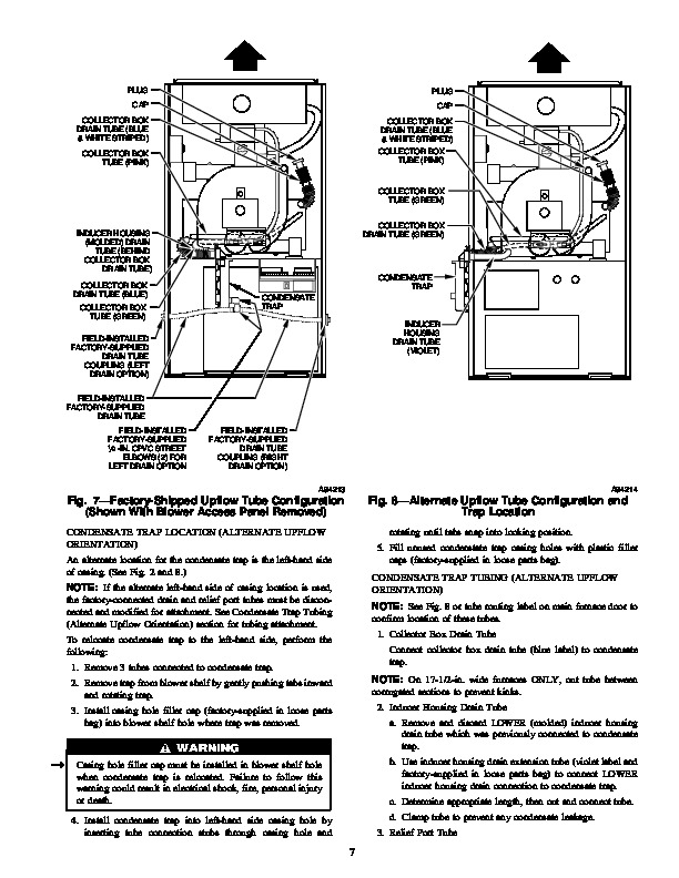 Carrier 58MVP 12SI Gas Furnace Owners Manual