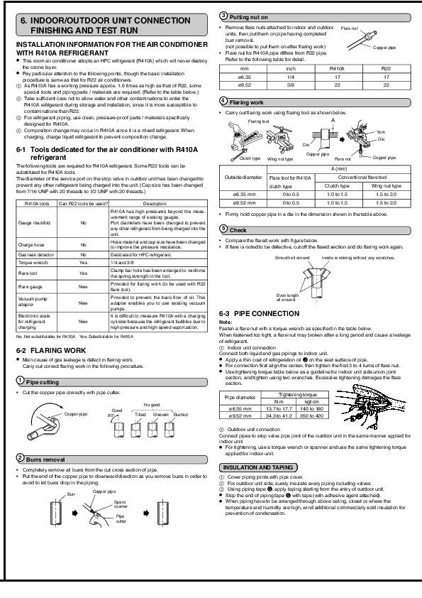 Mitsubishi MSZ GB35VA MUZ GB35VA Wall Air Conditioner