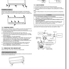 Mitsubishi Split Ac Unit Wiring Diagram Clarion Cd Player Msz Gb35va Muz Wall Air Conditioner Installation Manual