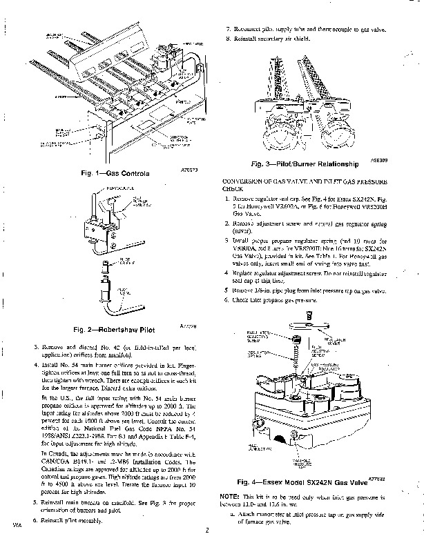 Carrier 58DP 58GP 6SI Gas Furnace Owners Manual