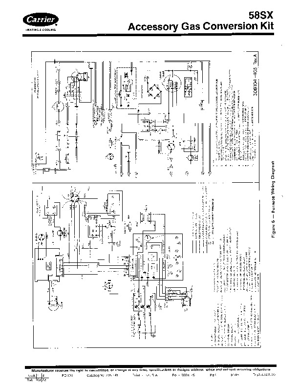 Carrier 58SX 7SI Gas Furnace Owners Manual