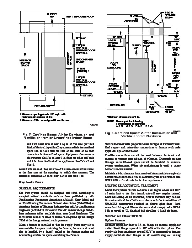 Carrier 58CTS 1SI Gas Furnace Owners Manual