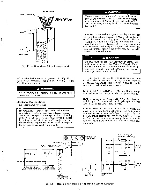 Carrier 58DHB 2SI Gas Furnace Owners Manual