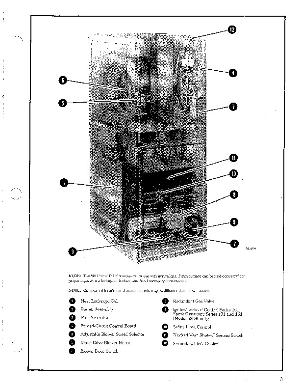 Carrier 58DP 58DR 3PD Gas Furnace Owners Manual