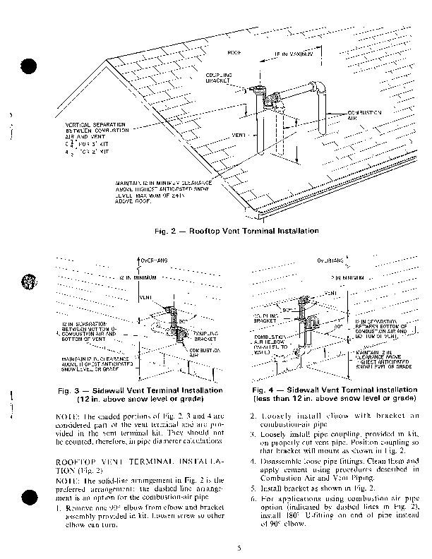 Carrier 58SX 2XA Gas Furnace Owners Manual