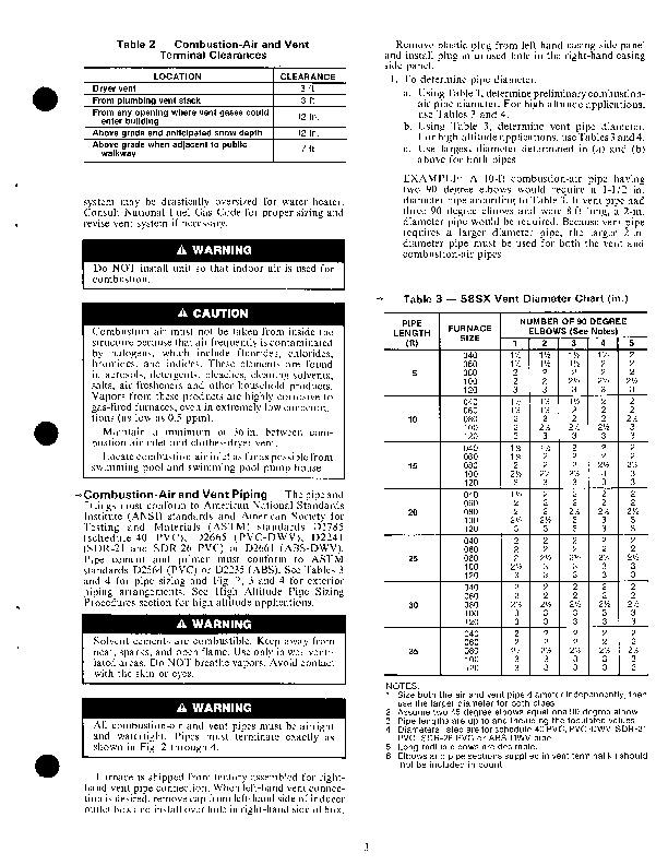 Carrier 58SX 4XA Gas Furnace Owners Manual