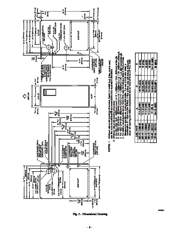 Carrier 58MEB 03SI Gas Furnace Owners Manual