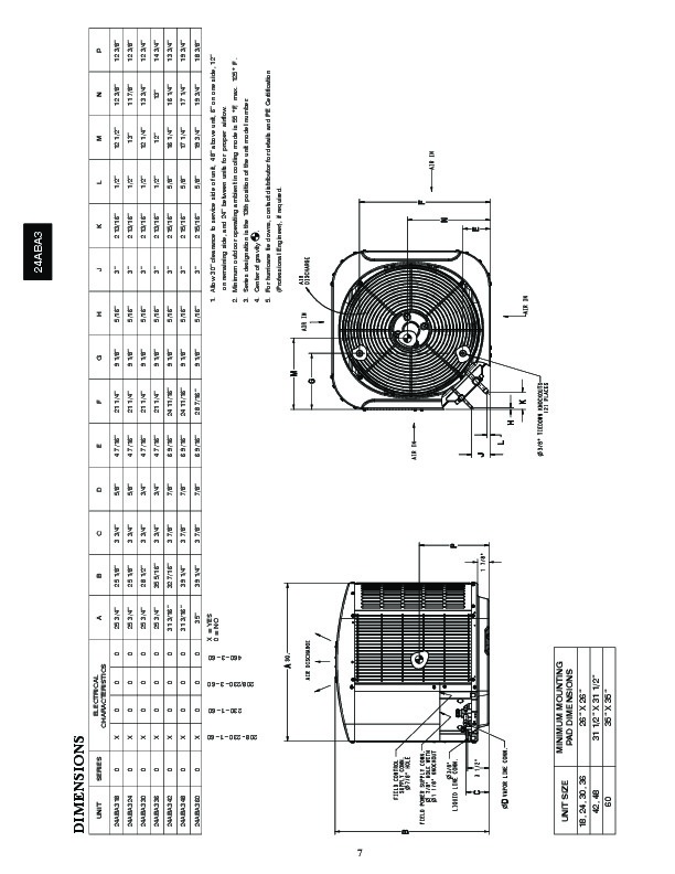 Carrier 24aba 3 1pd Heat Air Conditioner Manual