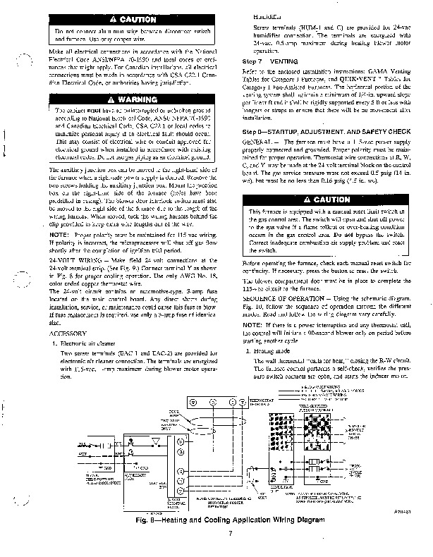 Carrier 58WAV 1SI Gas Furnace Owners Manual