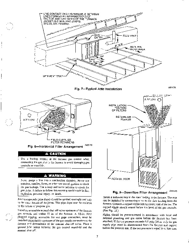 Carrier 58TMA 2SI Gas Furnace Owners Manual