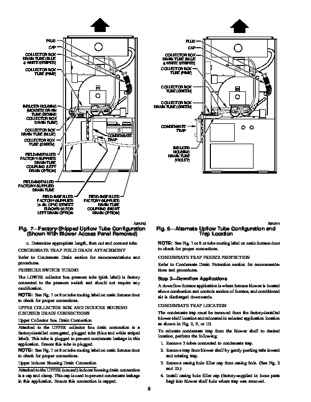 Carrier 58MVB 1SI Gas Furnace Owners Manual