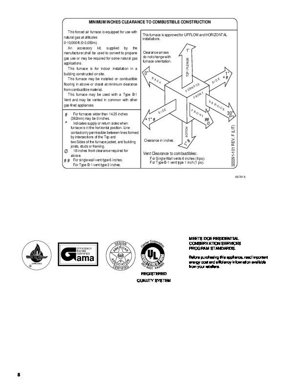 Carrier 58UXT 5PD Gas Furnace Owners Manual