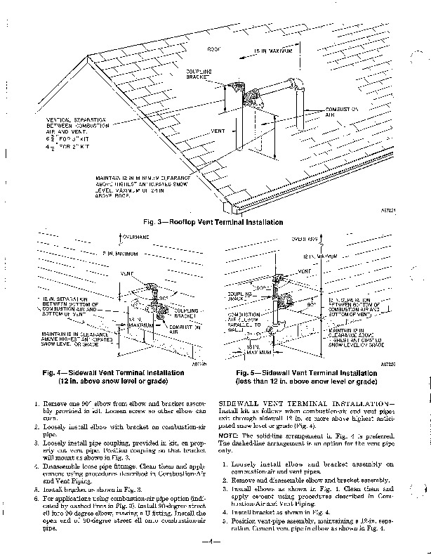 Carrier 58SX 7XA Gas Furnace Owners Manual
