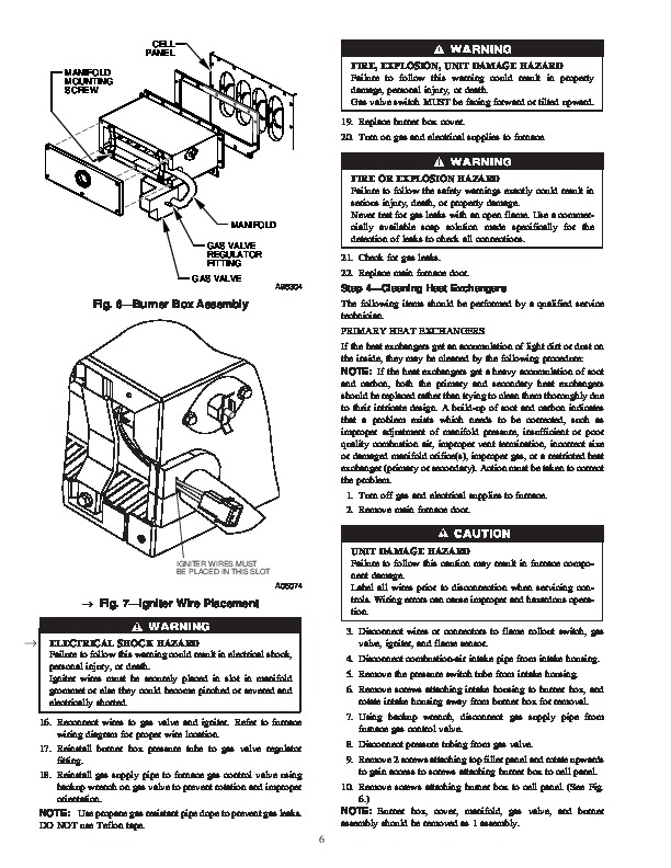 Carrier 58MTB 1SM Gas Furnace Owners Manual