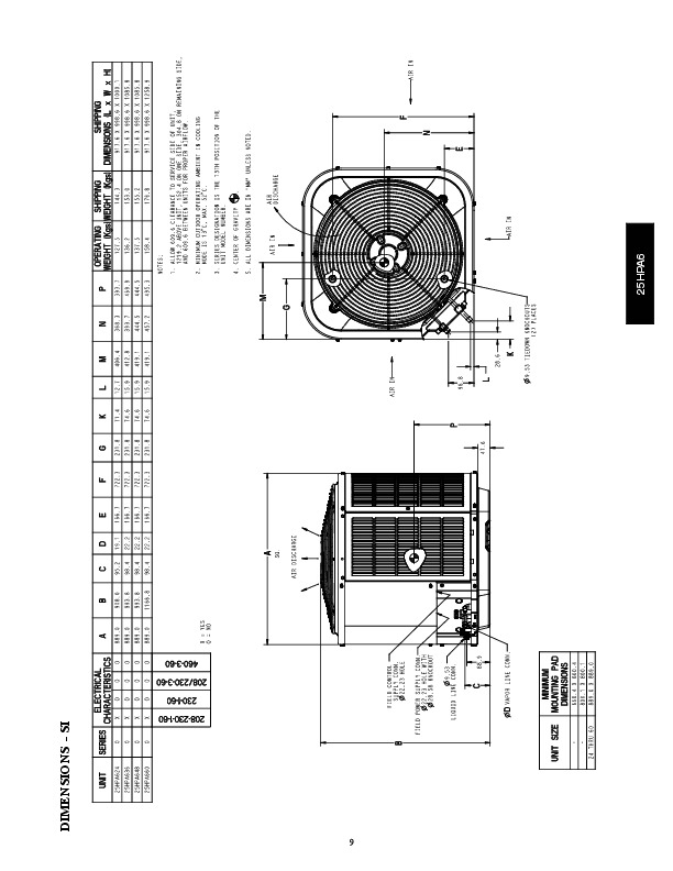 Carrier 25hpa6 1pd Heat Air Conditioner Manual