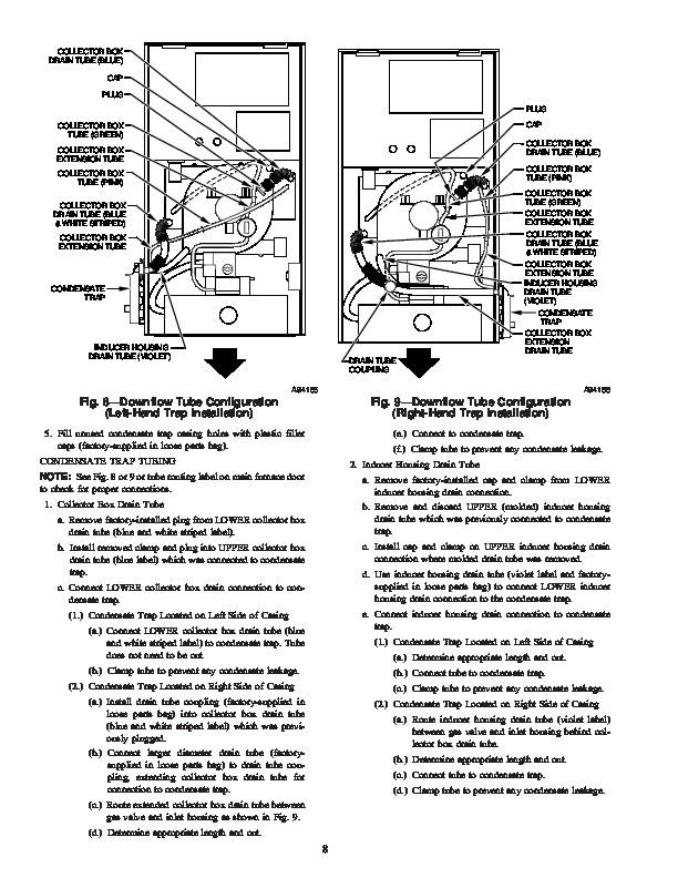 Carrier 58MSA 8SI Gas Furnace Owners Manual