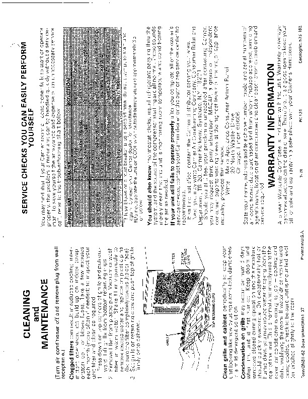 Carrier 51 62 Heat Air Conditioner Manual
