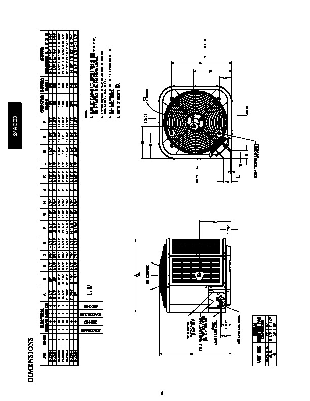 Carrier 24acb3 1pd Heat Air Conditioner Manual