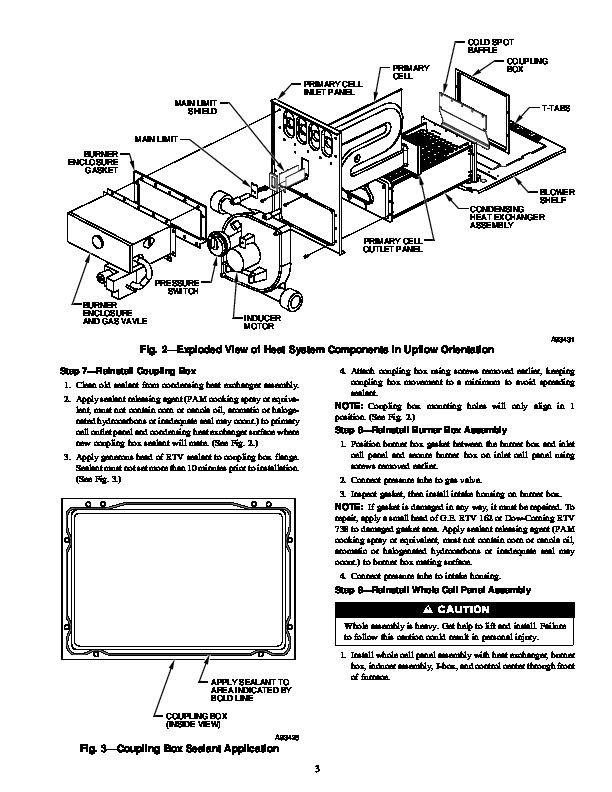 Carrier 58M 59SI Gas Furnace Owners Manual