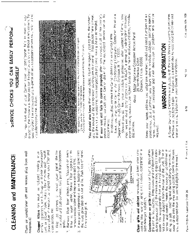 Carrier 51 56 Heat Air Conditioner Manual